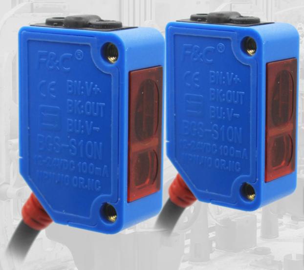 """嘉准 BGS-S10N背景抑制光电传感器 专治""""疑难杂症"""""""